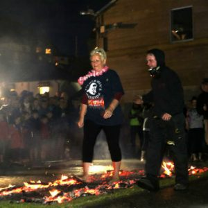 Looe Fire Walk