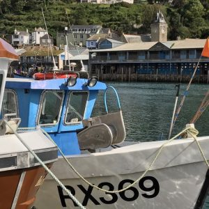 Fishing Boats Looe Harbour