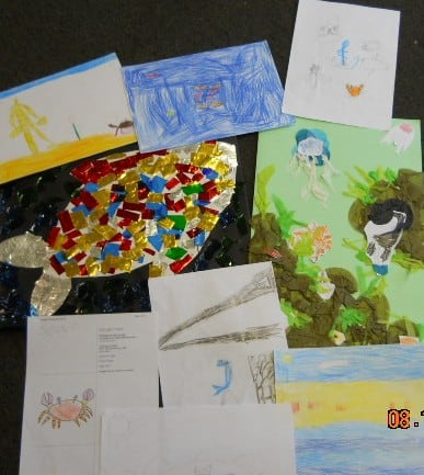 Cards and pics St Rumon's School Tavistock