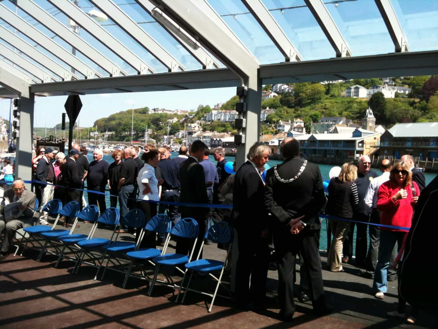 Opening of West Looe Quayside Centre